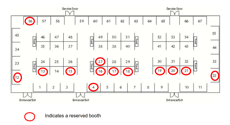 Vendor Booth Map 3.28